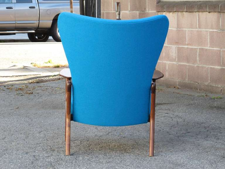 Adrian Pearsall for Craft Associates Lounge Chair In Excellent Condition In Berkeley, CA