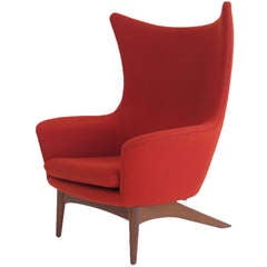 HW Klein Recling Highback Lounge Chair