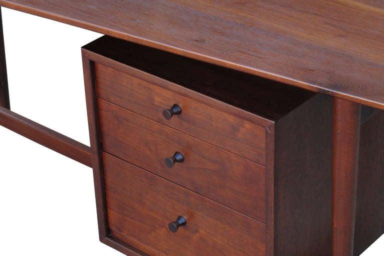 Richard Artschwager Studio Walnut Desk For Sale At 1stdibs