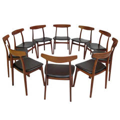 Henning Kjaernulf Rosewood Dining Chairs