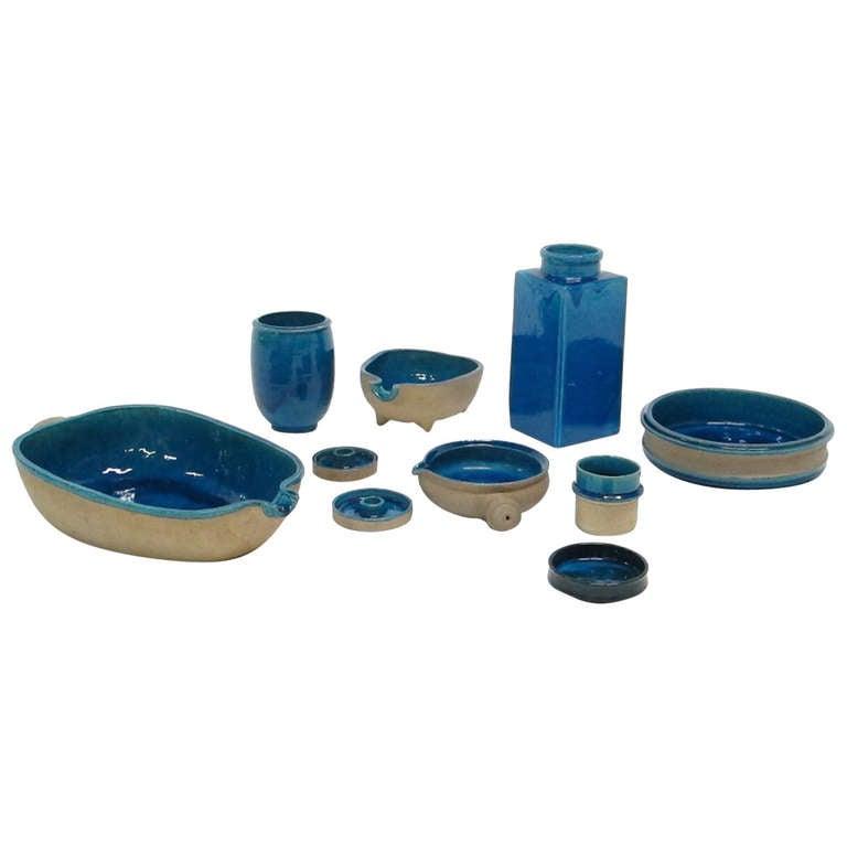 Collection Of Herman Kahler Ceramics At 1stdibs