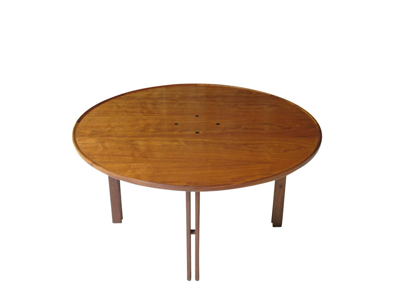 Mid-Century Walnut Coffee Table In Excellent Condition For Sale In Berkeley, CA