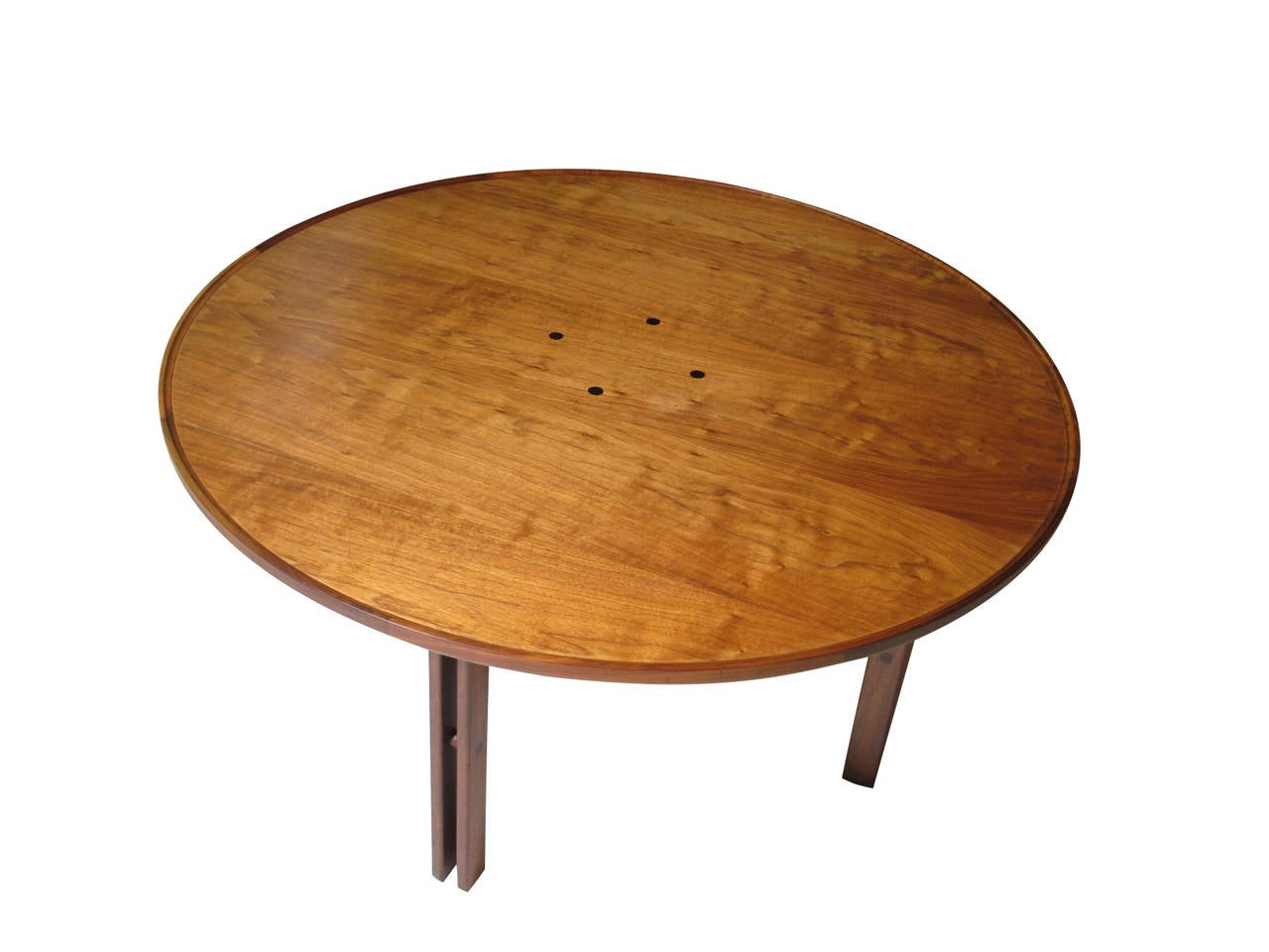 20th Century Mid-Century Walnut Coffee Table For Sale