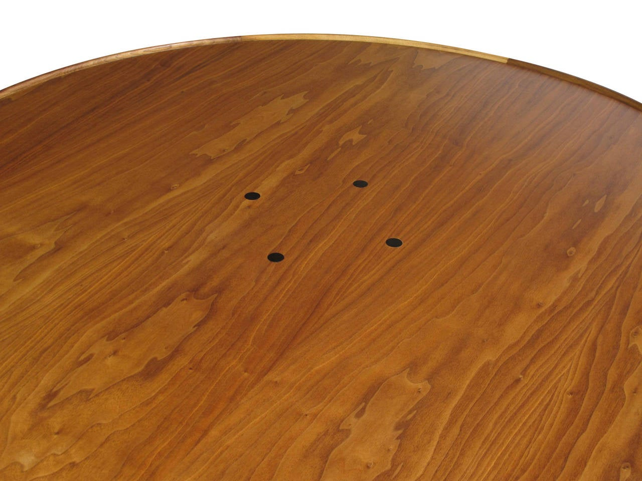 American Mid-Century Walnut Coffee Table For Sale