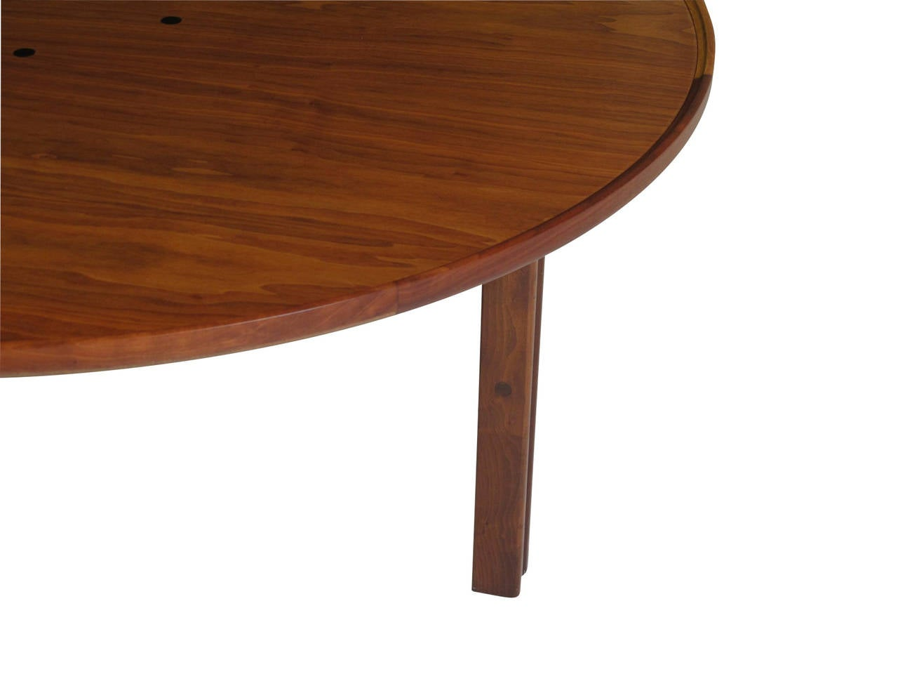 Mid-Century Walnut Coffee Table For Sale 2