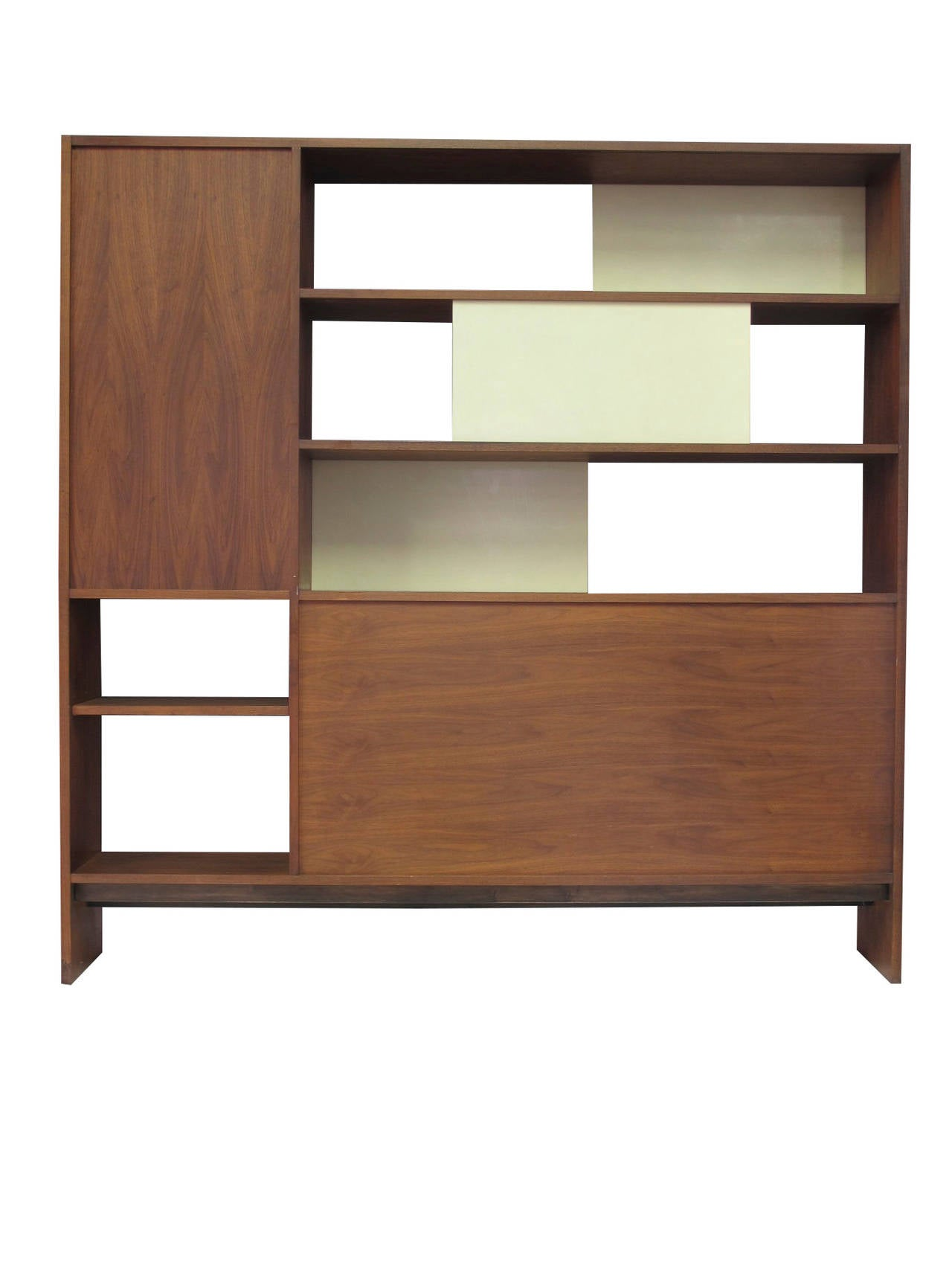 #885C42 Walnut Room Divider Bookcase At 1stdibs with 1280x1706 px of Recommended Open Shelf Bookcase Room Divider 17061280 save image @ avoidforclosure.info