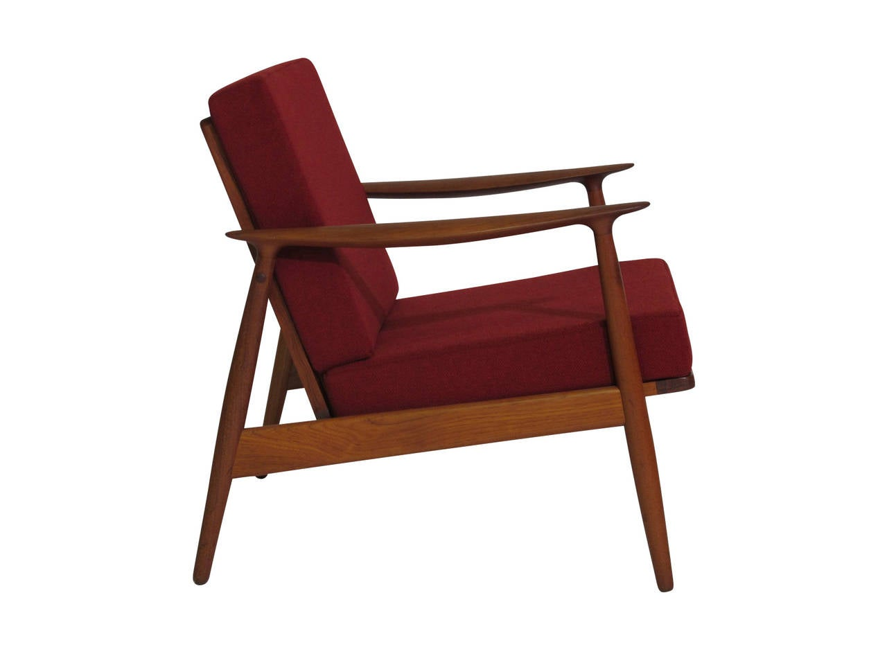 Danish Teak Lounge Chair at 1stdibs