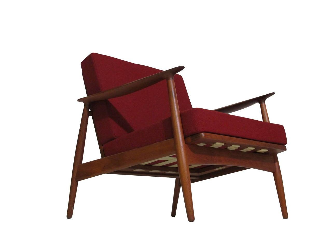 Danish Teak Lounge Chair at 1stdibs