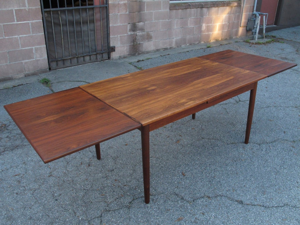 danish rio rosewood dining table at 1stdibs