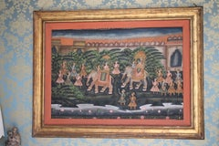 Large Batik Mounted Panel
