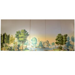 The French Garden, Zuber Scenic Wallpaper