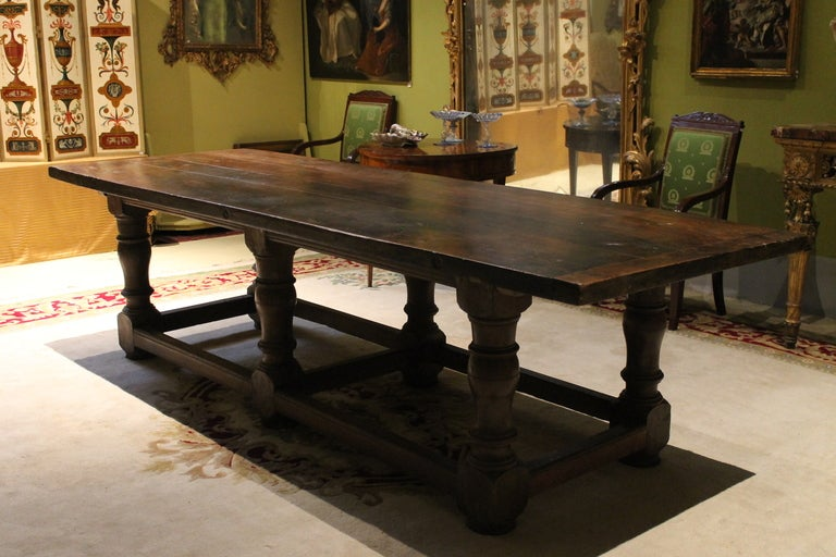An Italian 17th Century Dining Table At 1stdibs