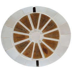 Roger Capron 1970s Tile Coffee Table from the Garrigue Collection Vallauris