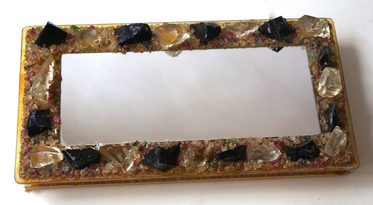 Mid-Century Modern RAAK Wall Light with Mirror 'Chartres' by Willem van Oyen Senior For Sale