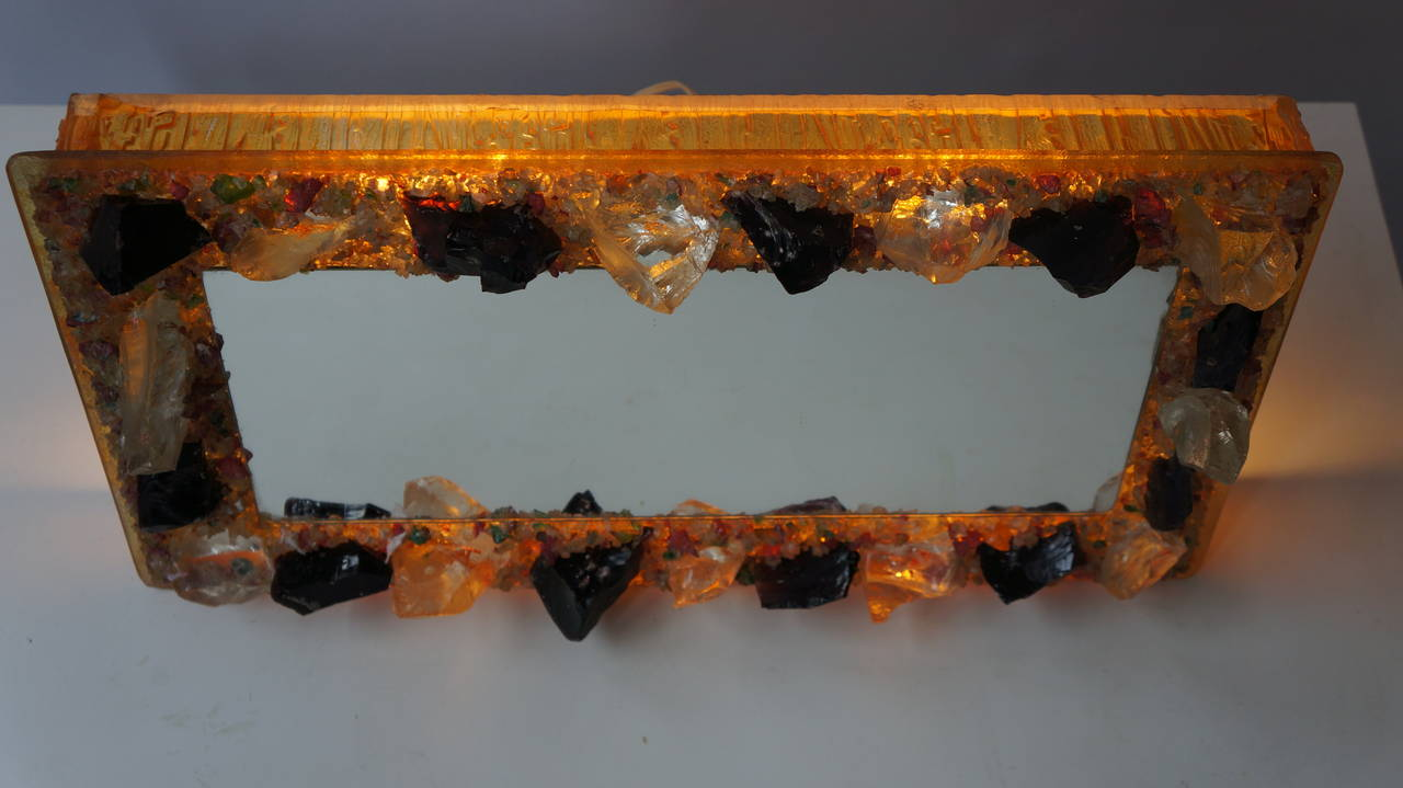 RAAK Wall Light with Mirror 'Chartres' by Willem van Oyen Senior For Sale 1
