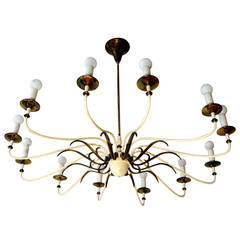 Large and Fabulous Mid-Century Chandelier
