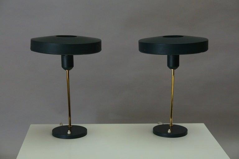 Pair of Louis Kalff Table Lights 3