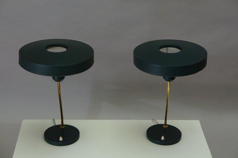 Pair of Louis Kalff Table Lights 2