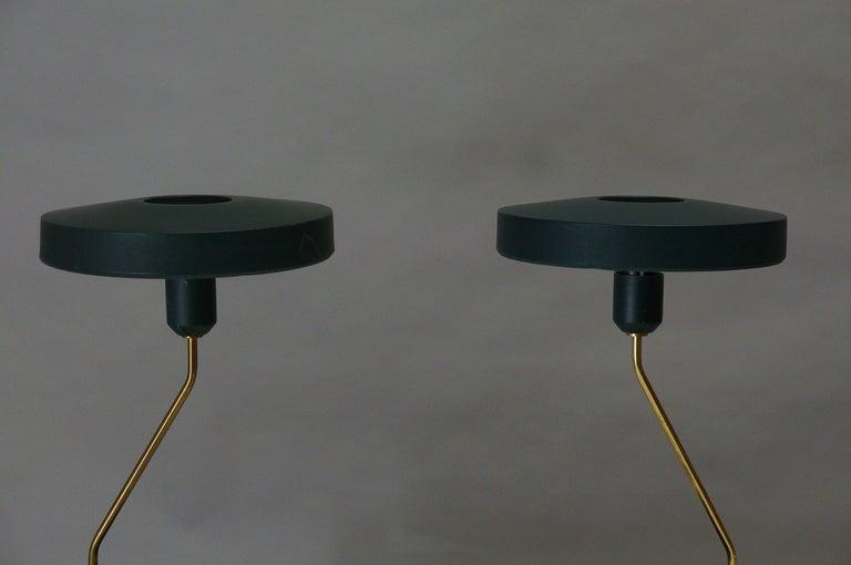 Pair of Louis Kalff Table Lights 4