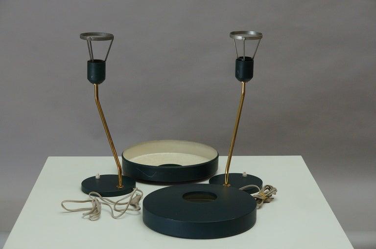 Pair of Louis Kalff Table Lights 5