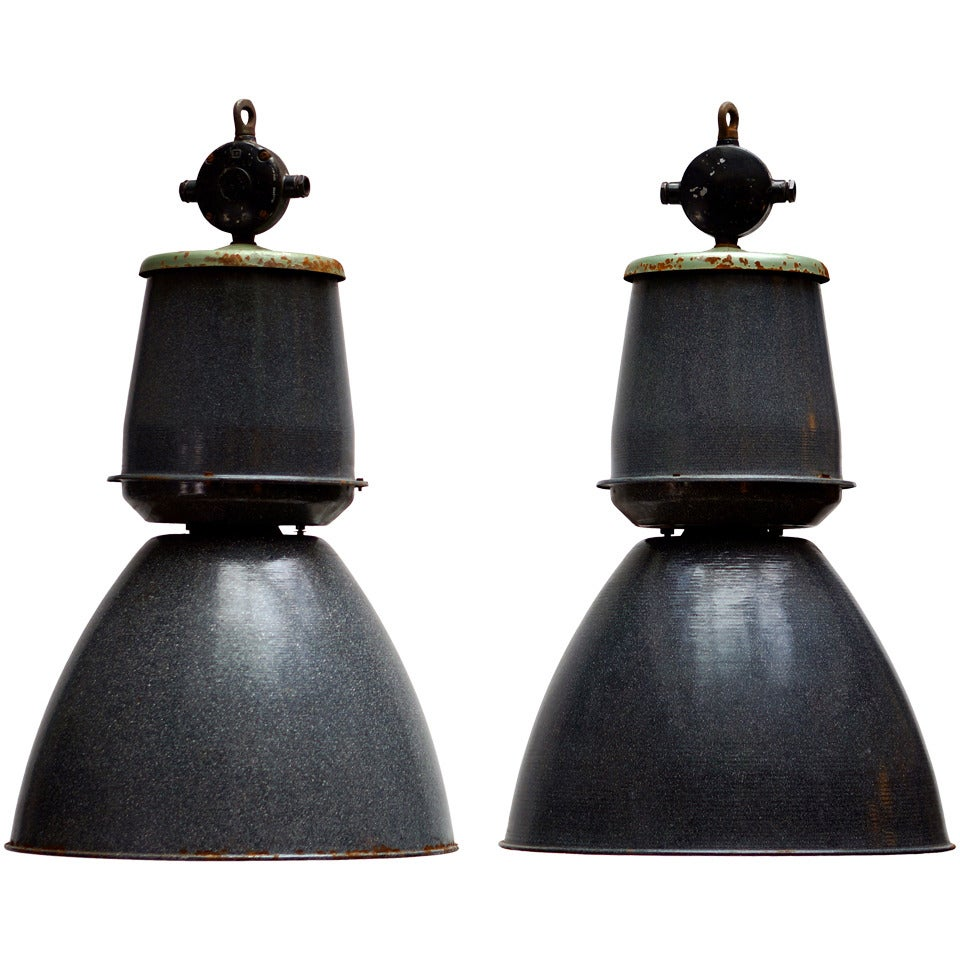 One of Eight Giant Industrial Lights