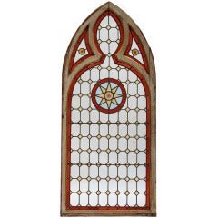 Neo-Gothic Stained Glass Window