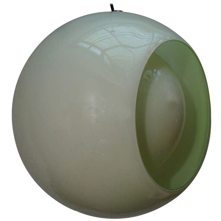Beautiful Globe Pendant by Carlo Nason for Mazzega