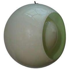 Beautiful Globe Pendant by Carlo Nason for Mazzega
