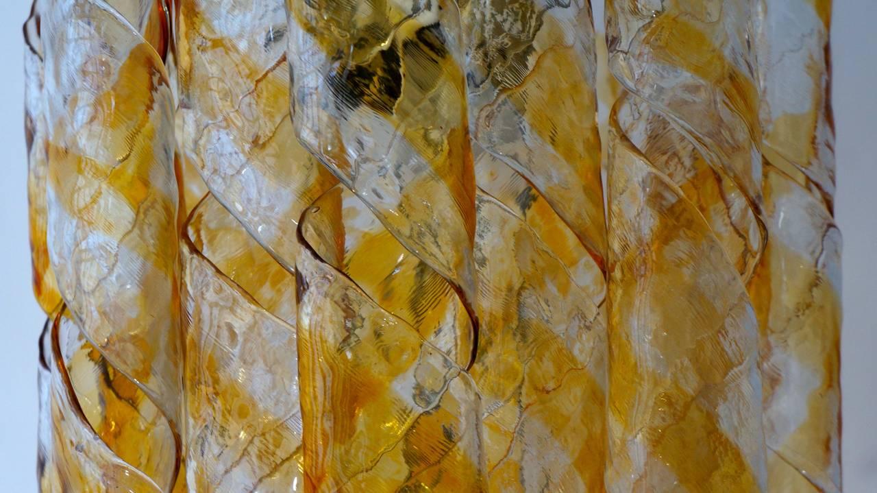 Italian Murano Glass Chandelier For Sale 3
