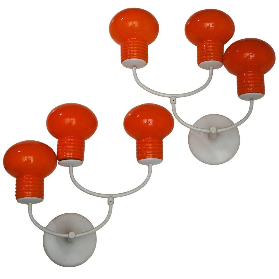 Pair of Beautiful Wall Lamps