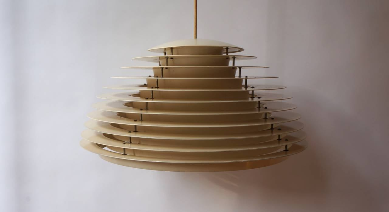Nice elegant mid century ceiling light for sale at 1stdibs for Mid century ceiling lamp