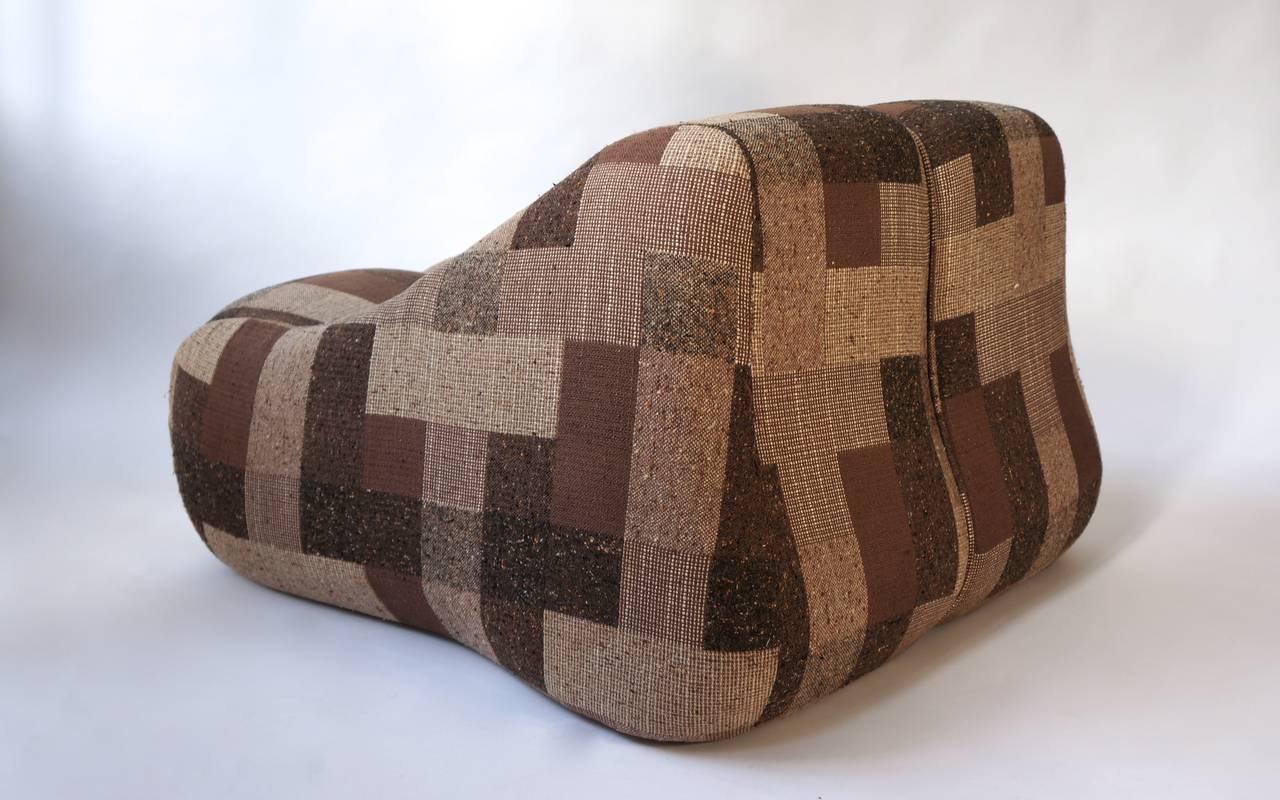 Italian Nice Lounge or Rocking Chair by D'urbino & Lomazzi For Sale