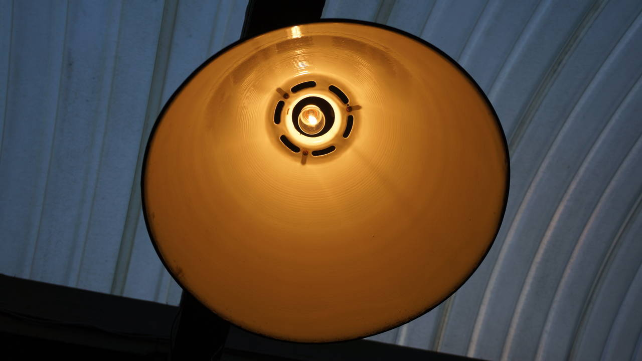 Sixteen Giant Industrial Lights 8