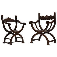 Pair of Dagobert Chairs