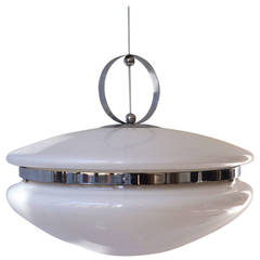 Beautiful Italian UFO Chandelier
