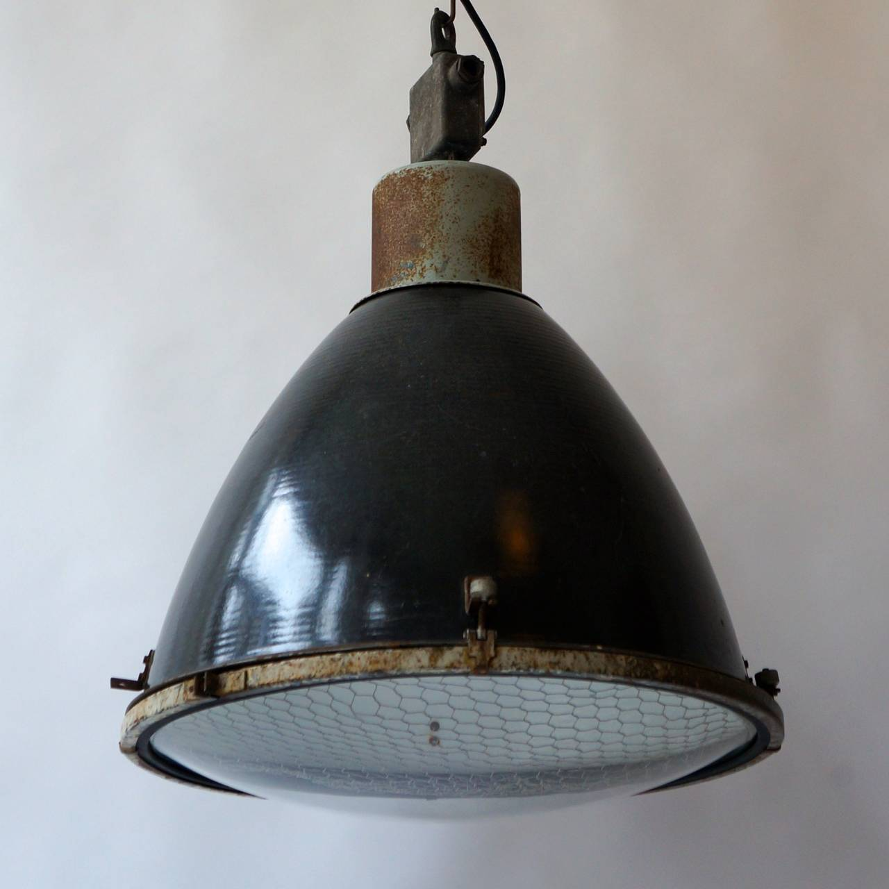 large industrial pendant light at 1stdibs
