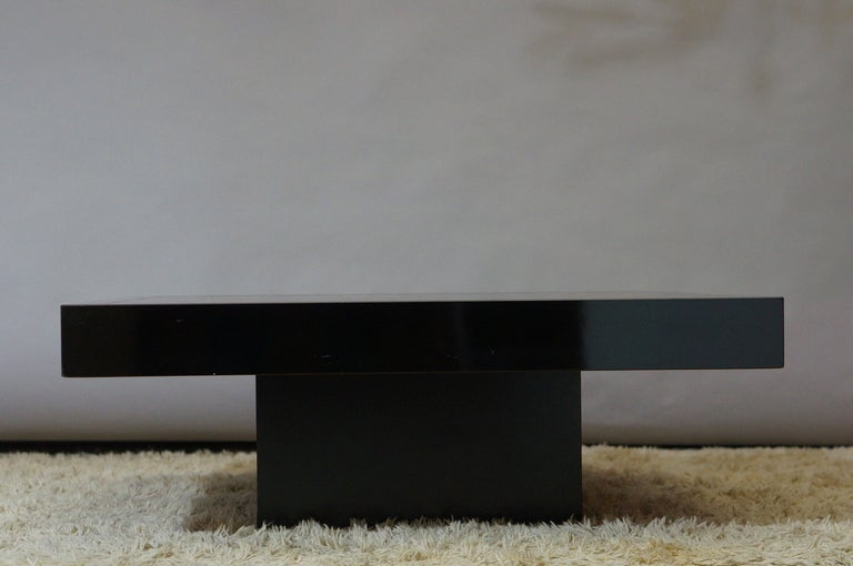 inox coffee table circa 1970 travail francais at 1stdibs