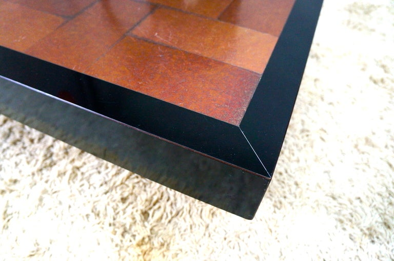 Inox coffee table circa 1970 for sale at 1stdibs for Table travail inox