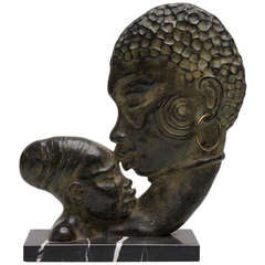 French Art Deco Bronze Sculpture