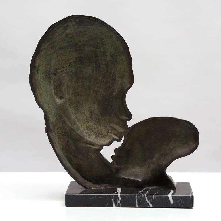 20th Century French Art Deco Bronze Sculpture For Sale