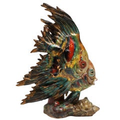 1950s Italian Ceramic Fish
