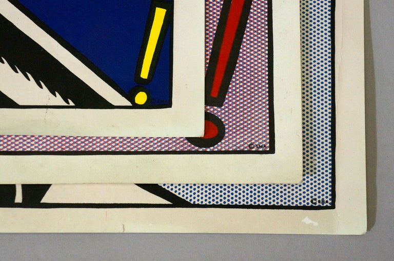 Three Offset Lithographs after Roy Lichtenstein For Sale 1