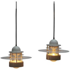 Beautiful Pair of Louis Poulsen Industrial Lights