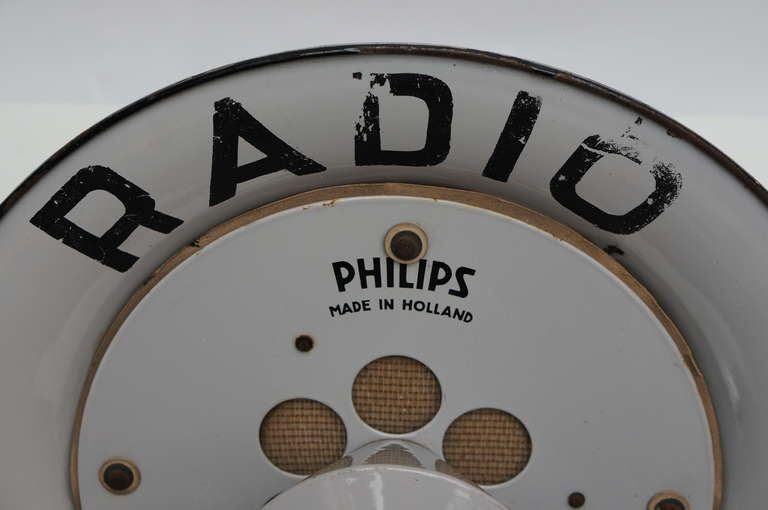 Industrial Philips Speaker For Sale 2