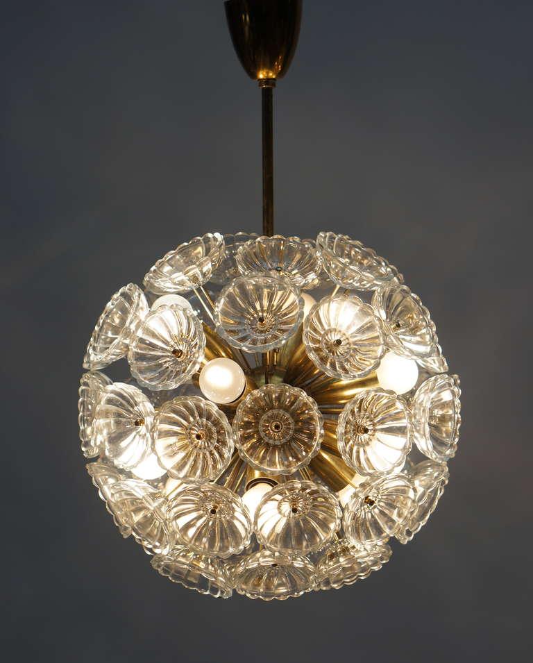 Mid-Century Modern Sputnik Chandelier For Sale