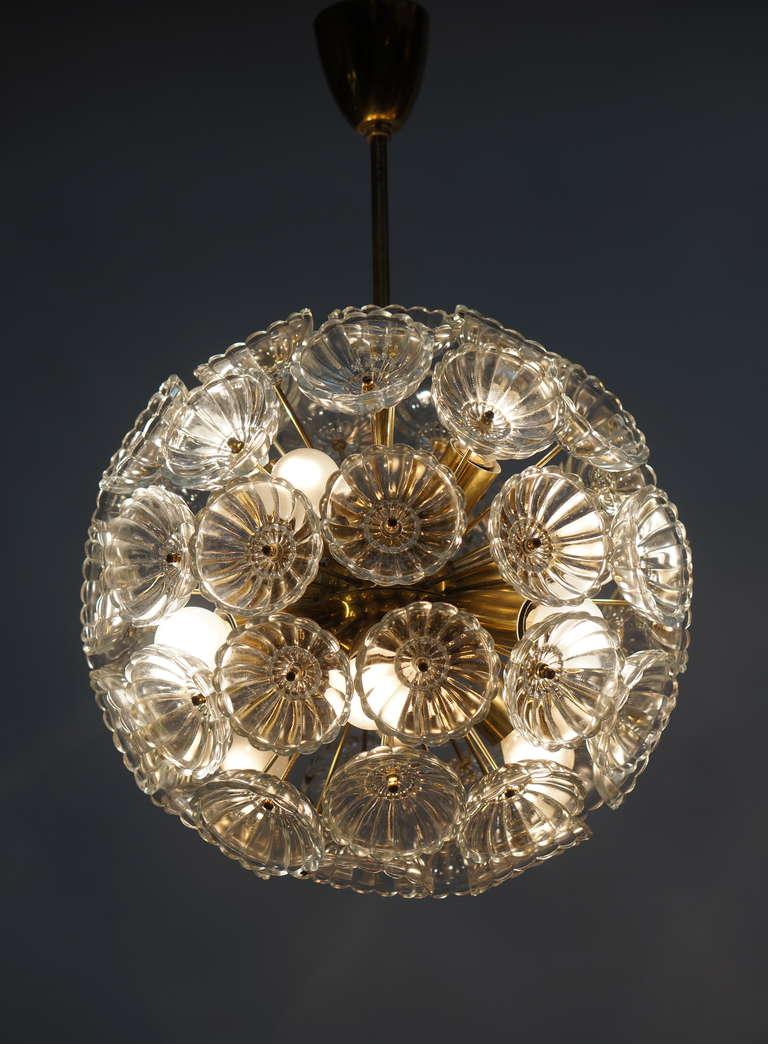 Sputnik Chandelier In Good Condition For Sale In Antwerp, BE