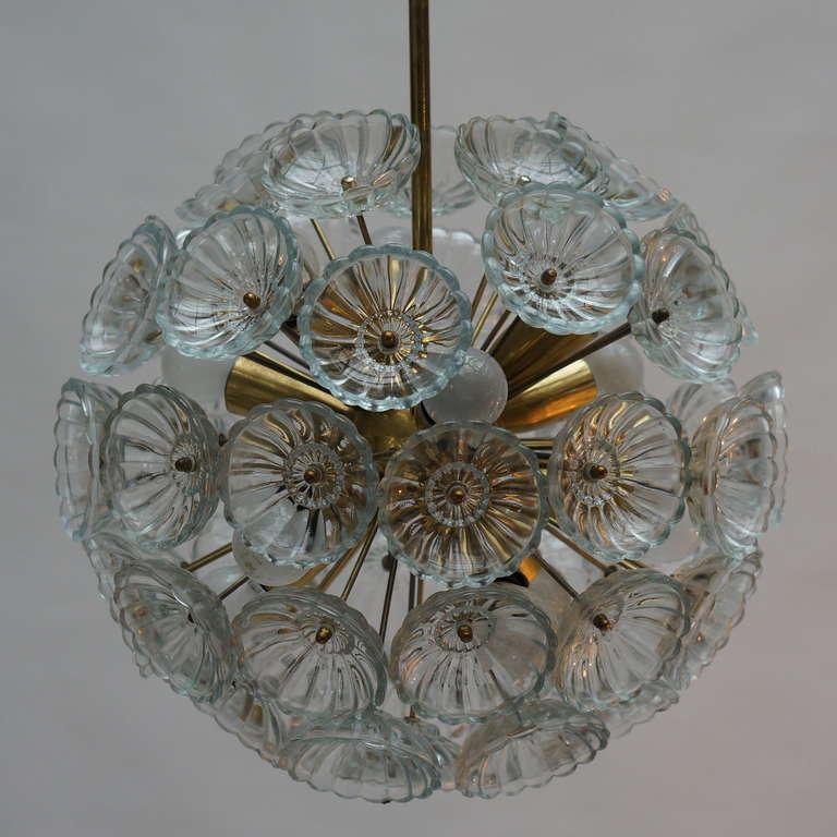 Mid-20th Century Sputnik Chandelier For Sale
