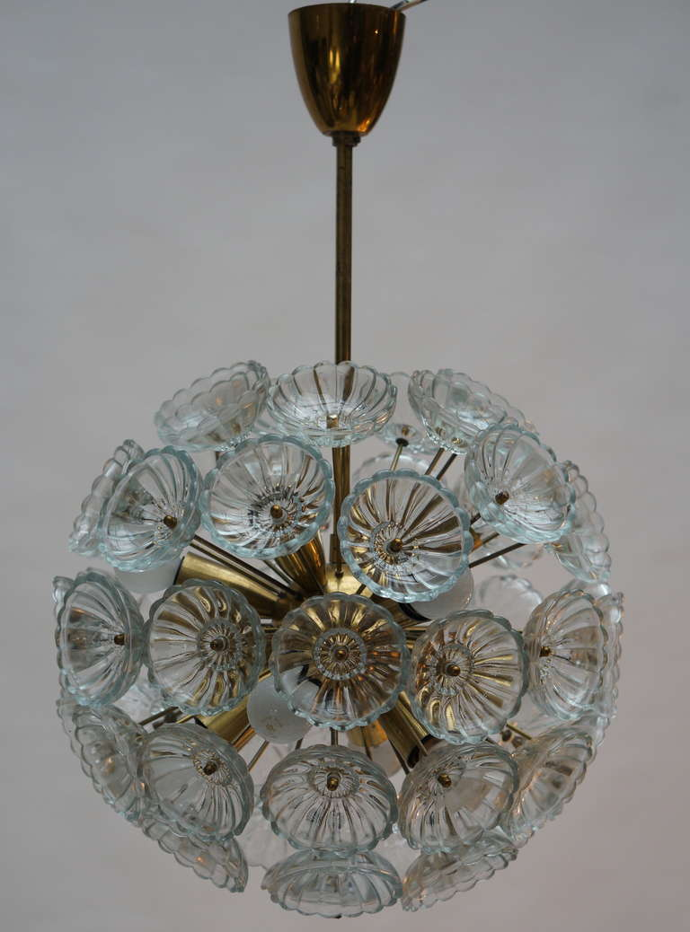 Sputnik chandelier. Diameter:40 cm. Total height:56 cm 12 - E14 bulbs.