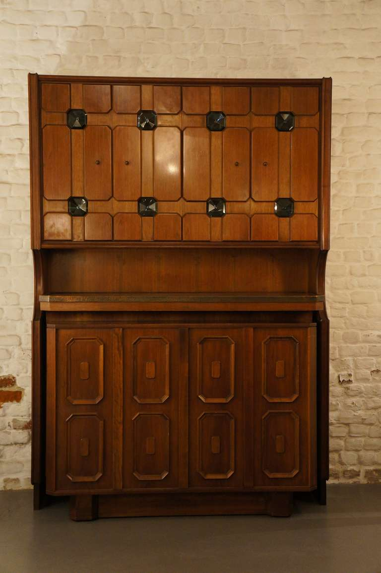 Stunning Italian Bar Cabinet In Good Condition For Sale In Antwerp, BE