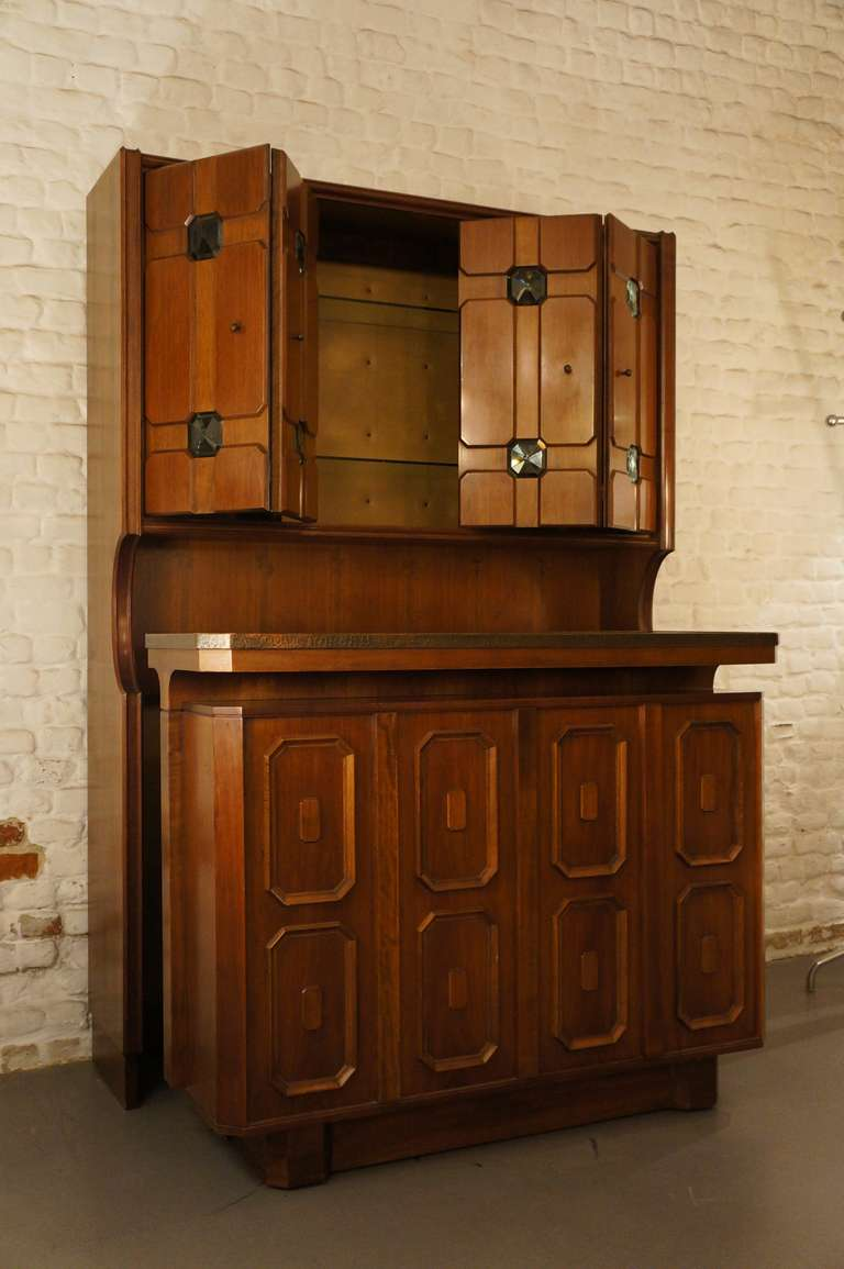 Stunning Italian Bar Cabinet For Sale 1